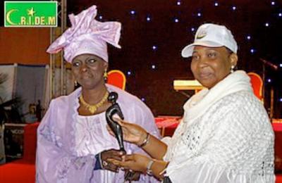 L'action de Madame Tabara Gaye (déléguée du GTCF) distinguée