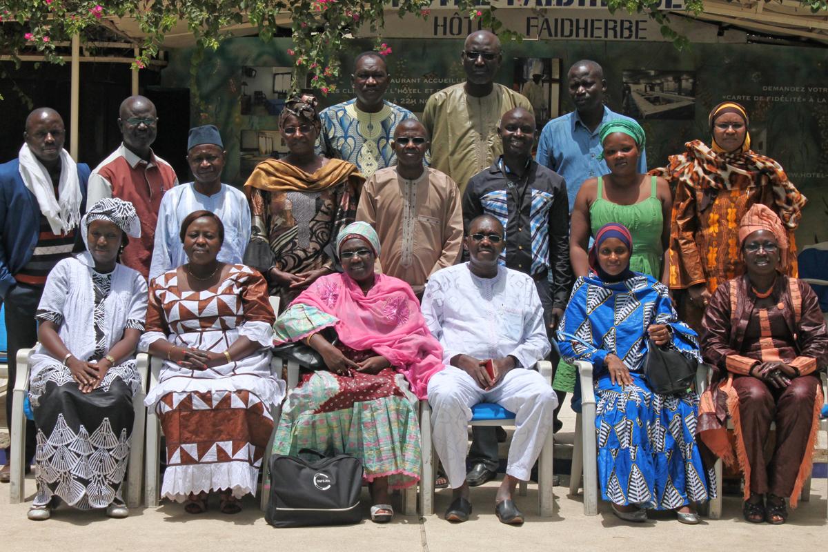 Retraite annuelle du personnel de la CONFEJES à Dakar (Sénégal)