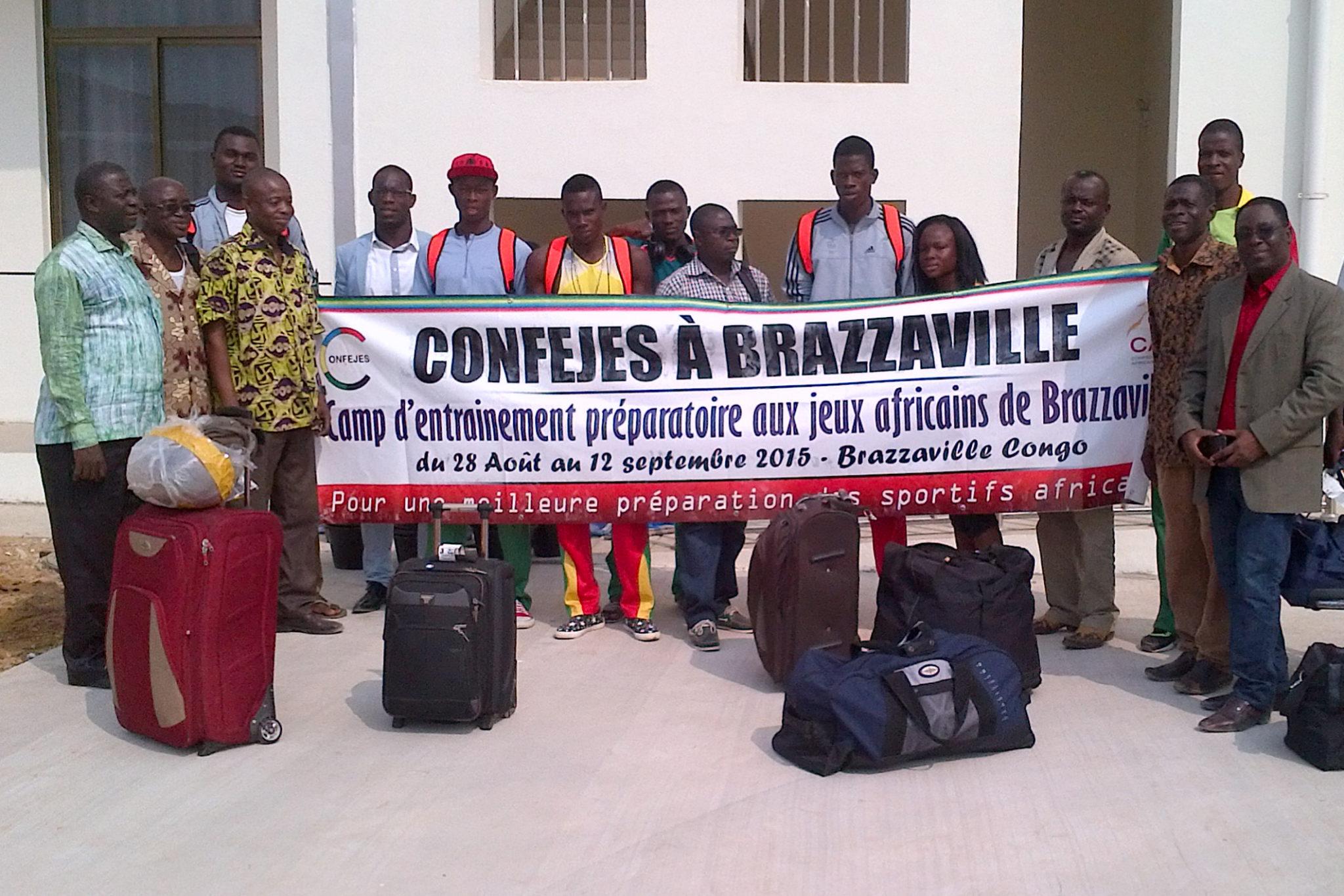 Camp d'entraînement préparatoire aux 11emes Jeux Africains