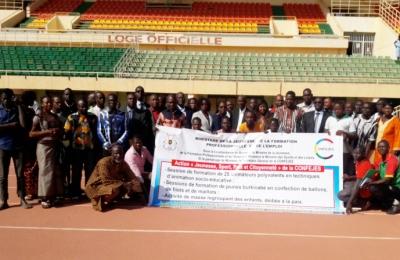 Cérémonie d'ouverture de l'action «Jeunesse, sport, paix et citoyenneté» au Burkina Faso