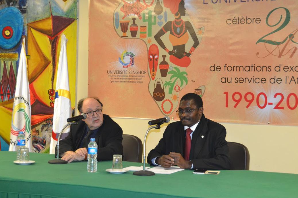 Activation de la coopération institutionnelle entre la CONFEJES et l'Université Senghor d'Alexandrie