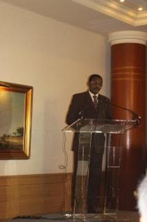 le Secrétaire Général de la CONFEJES lors de son allocution