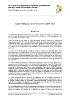 cadre-strategique-de-la-francophonie-2015-2022-29-30-novembre-2014-dakar