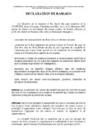 declaration-bamako