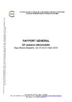 rapport-32eme-session-ministerielle-de-la-confejes-bujumbura-23-et-24-mars-2009