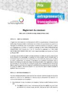 Règlement_Concours_Prix jeune entrepreneur(e)francophone