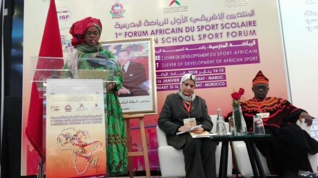 Participation de la CONFEMEN et de la CONFEJES au Premier Forum Africain du Sport scolaire à Rabat au Maroc