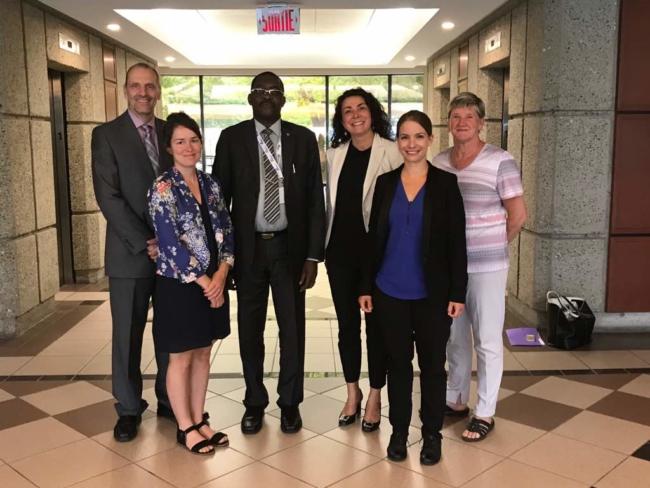 Visite de travail du Secrétaire général de la CONFEJES au Québec